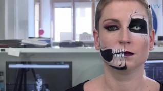 Un maquillaje terrorífico para no defraudar en Halloween