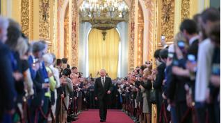 Putin toma posesión de su cargo de presidente ruso por cuarto mandato consecutivo.