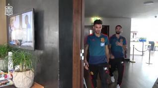 La Selección Española de Fútbol se concentra en Londres