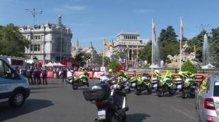 La Vuelta Ciclista a España finaliza en centro Madrid