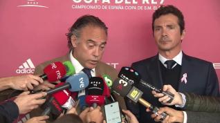 """Llamazares Díez y Amor, """"ilusionados"""" tras el sorteo de la Copa"""