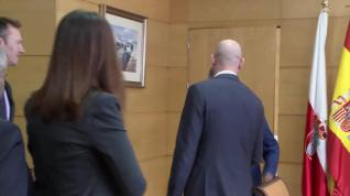 Luis Rubiales se reúne con Miguel Ángel Revilla