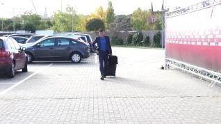 Gil Manzano vive tranquilo los días previos al partido Atlético-Barcelona