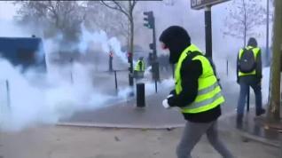 Incidentes violentos en París en las protestas contra la subida de los carburantes