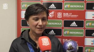 """Toña Is (seleccionadora de la Sub- 17): """"Hemos hecho historia"""""""