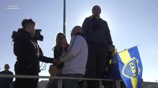 Entrenamiento del Boca Juniors en la Ciudad del Fútbol