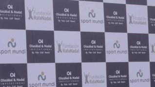 Nadal participa en el torneo benéfico Olazábal&Nadal