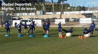 Álvaro Vázquez vuelve a los entrenamientos del Real Zaragoza