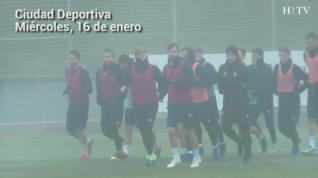 El Real Zaragoza prepara su siguiente partido frente al Rayo Majadahonda