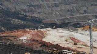 La mina de carbón de Ariño.