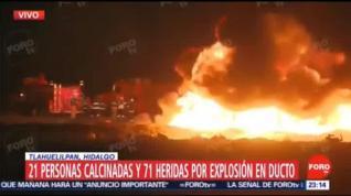 Más de 60 muertos al explotar una toma clandestina de gasolina en México