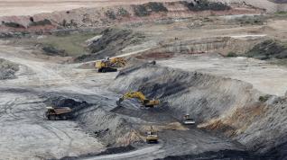 La mina a cielo abierto de Ariño cerró el miércoles por decisión de Samca