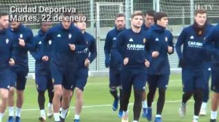 El Real Zaragoza comienza a preparar su encuentro frente al Real Oviedo