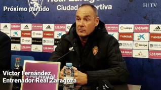 """Víctor Fernández: """"Tenemos armas más que suficientes para ganar al Oviedo"""""""