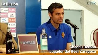 """Dorado, del Real Zaragoza: """"Más vale tarde que nunca"""""""
