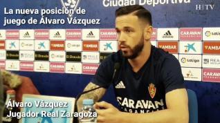 """Álvaro Vázquez, del Real Zaragoza: """"No solo se sale de abajo con buen juego"""""""