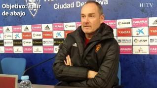 """Víctor Fernández: """"El principal objetivo es salir de abajo, salvo que ganemos 4 partidos seguidos"""""""