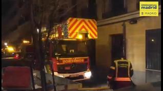 Un hombre herido grave por un incendio en su vivienda
