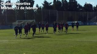 El Real Zaragoza ya prepara el partido contra el Albacete