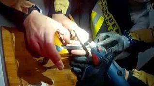 Un niño atrapado en una cerradura requiere la intervención de los bomberos