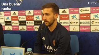 """Benito, del Real Zaragoza: """"Tenemos que intentar sumar de tres en tres"""""""
