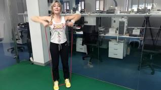 Rutina de entrenamiento 3: hombro y tríceps