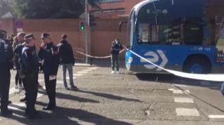 Muere un hombre atropellado por un autobús de la EMT en Madrid