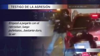 Identificado el violento motorista de Barcelona