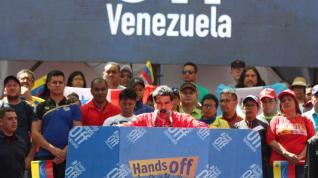 Maduro asegura que la ayuda humanitaria es un ?lavado de cara? a la ?amenaza militar de EEUU?