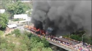 La ayuda humanitaria no llega a Venezuela