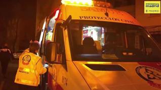 Incendio en una vivienda en el barrio madrileño de Carabanchel