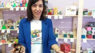Una tienda con más de 500 tipos de cubos de rubik en Zaragoza