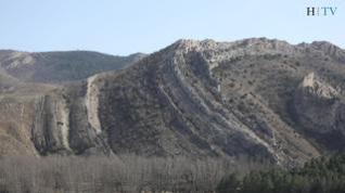 Aliaga: alegría y porfía con la geología