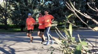Un ejemplo de superación, preparado para correr el Medio Maratón