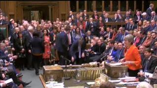 El Parlamento británico vota este miércoles si sale de manera abrupta de la UE