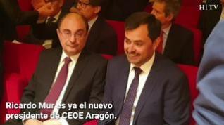 Ricardo Mur, nuevo presidente de CEOE Aragón