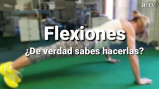 Flexiones... ¿De verdad sabes hacerlas?