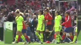 El fútbol femenino gana en el Metropolitano
