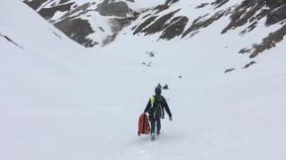 Herido un esquiador que realizaba una travesía en Sallent de Gállego