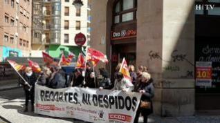 Nueva concentración en Zaragoza contra el ERE de DIA
