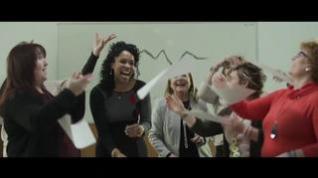 Las pregoneras del Pilar graban el videoclip 'Felicidad'