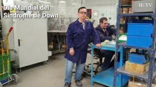 """Antonio Herrera, con Síndrome de Down: """"Trabajar aquí ha sido un regalo"""""""