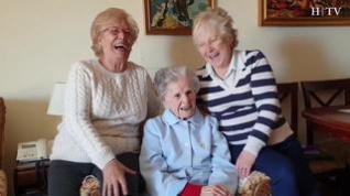 Bienvenida, 108 años y ni un día enferma