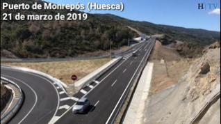 Abiertos dos nuevos tramos de la autovía A-23 en Monrepós