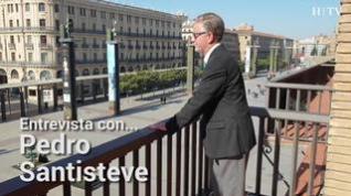 Entrevista con Pedro Santisteve, alcalde de Zaragoza, este domingo en HERALDO