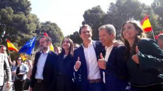 Rivera promete en Zaragoza impulsar la custodia compartida preferente