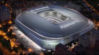 Florentino Pérez presenta el nuevo Santiago Bernabéu