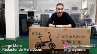 Unboxing de la bici eléctrica Ebike