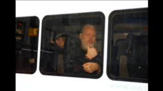 Detenido Julian Assange en Londres tras retirarle Ecuador la inmunidad diplomática