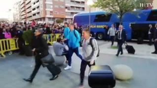 El FC Barcelona llega a Huesca